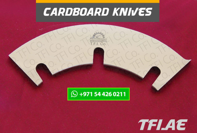 card board, corrugated, Industriemesser, Maschinenmessern, Tafelscherenmesser,packagiung , slitting , knives, machine, tools, cutter, converting, uae, saudi, dubai, ras al khaimah, industry, tfico, tfi company, machine knife, wrapping