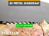 bandsaw, steel , blades, machine knives, uae, saudi qatar, gcc, iran, tfi, company,