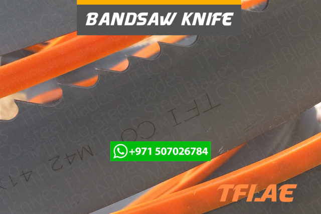 bandsaw, ban, saw, Industriemesser, Maschinenmessern, Tafelscherenmesser,band,sawing, saudi, tfico, dr, dastouri, knife, steel, dubai, machine, m42, bi metal, bipico, honsberg