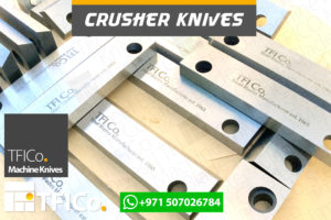 crusher, knives, steel blades, machine knives , tfico, steel,blades, crusher knives , plastic, grinder,