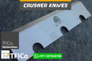 crusher, knives, steel blades, machine knives , tfico, steel,blades, crusher knives , plastic, grinder, packaging, cutting, naylon, wraper,