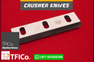 crusher, knives, steel blades, machine knives , tfico, steel,blades, crusher knives , plastic, grinder, packaging, cutting, naylon,