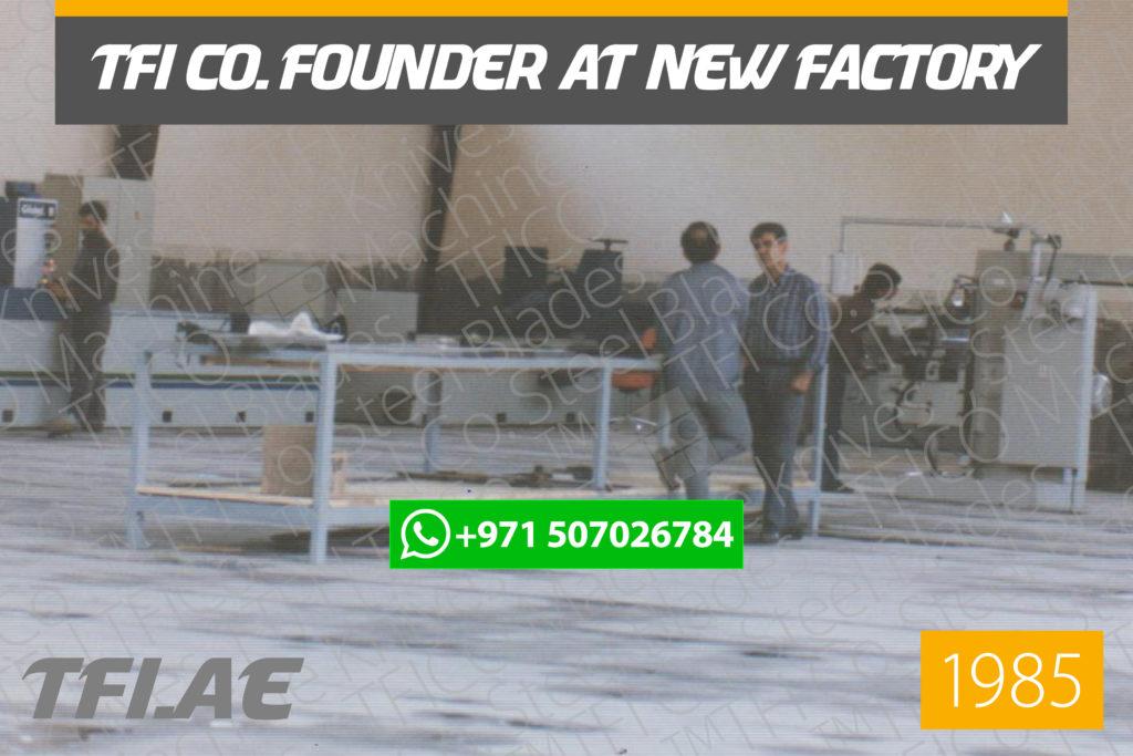 tfico, founder, steel blades, manufacturer , father of blades manufacturing , ghasem dastour, قاسم دستوری