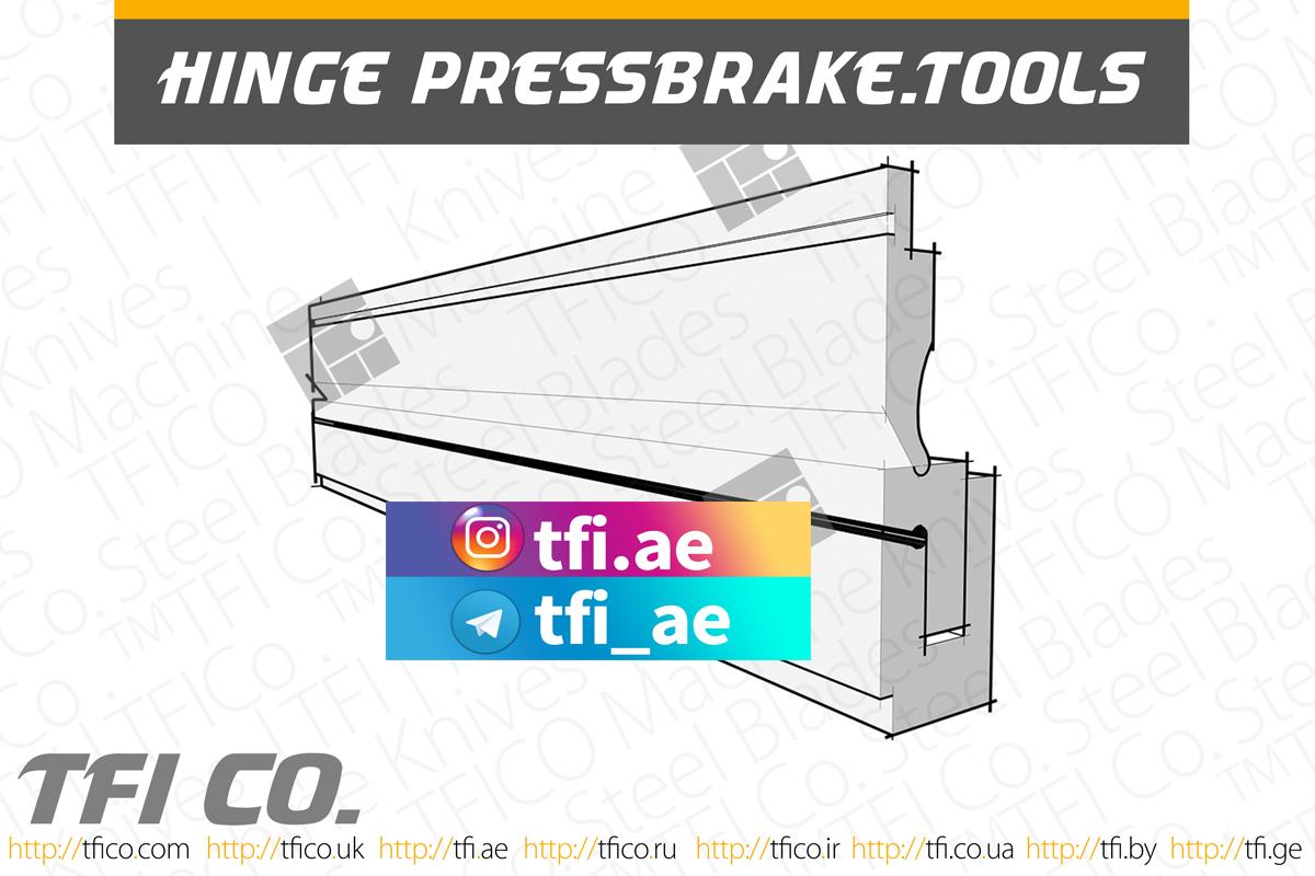 machine knives, press brake , tools , tfico, hinge maker , curl, tooling, special