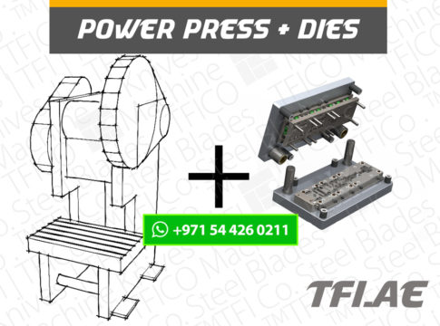 power press, Industriemesser, Maschinenmessern, Tafelscherenmesser,machine, tfico, progressive , dies, steel , blades, heat treatment, steel alloy , saudi, ton, capacity, power, high