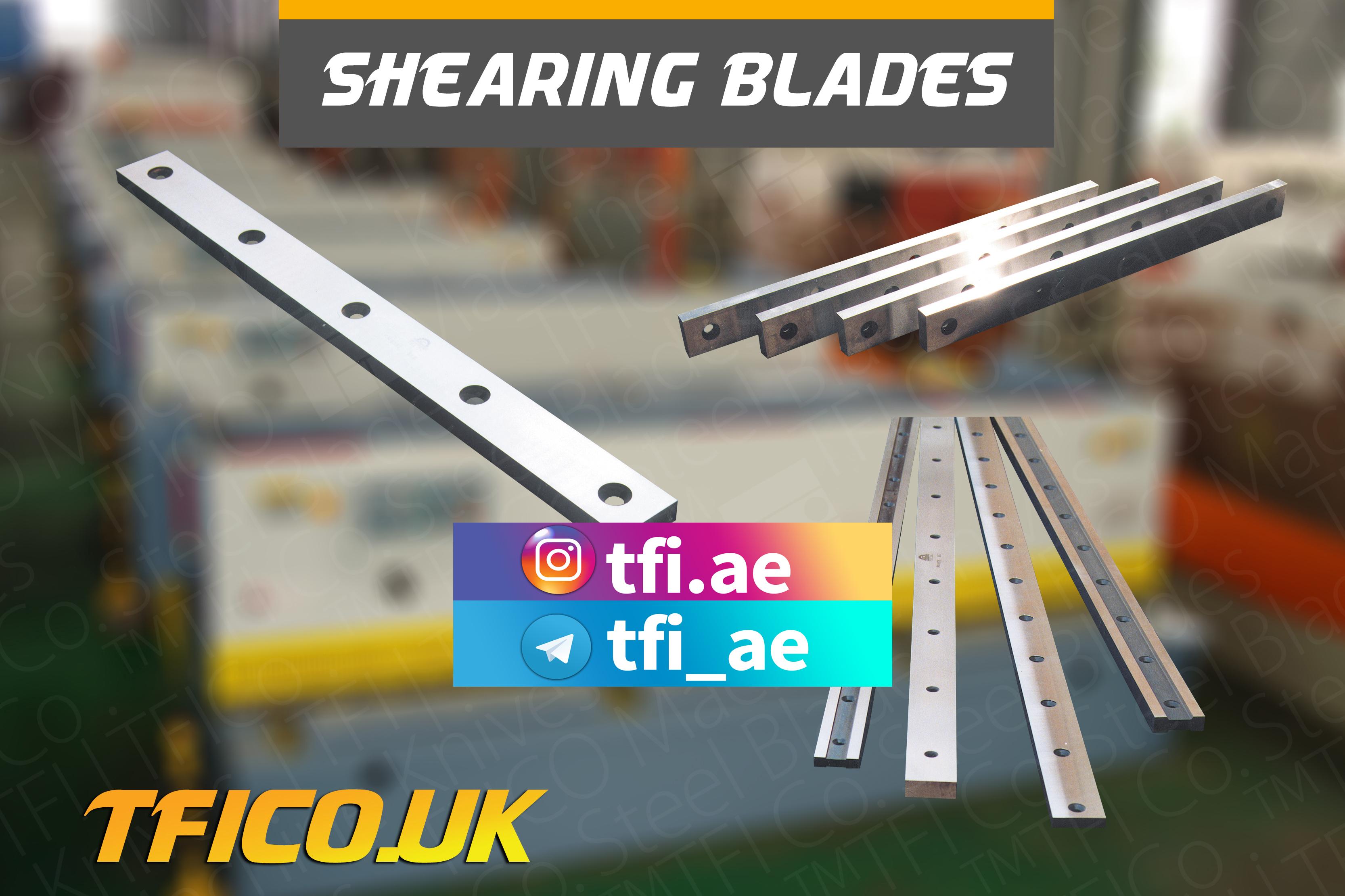 shear knives, steel blade, stell blades ,tfico, remscheid, tfico, germany, uk , unite kingdom, london, machine knives, Sheffield , sydney,